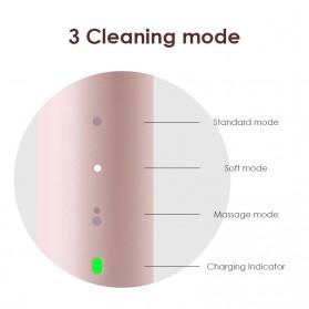 Xiaomi SOOCAS PINJING Sikat Gigi Elektrik Toothbrush Rechargeable Waterproof  - EX3 - Pink - 4