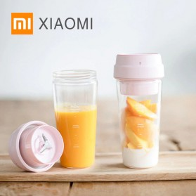 Xiaomi Mijia Botol Minum Blender Buah Portable Juicer Cup 400ml - Pink