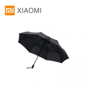 XIAOMI MIJIA Pinluo Payung Lipat Otomatis Portable Windproof Anti UV Umbrella  -  PLZDS04XM - Black - 1