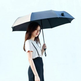 XIAOMI MIJIA Pinluo Payung Lipat Otomatis Portable Windproof Anti UV Umbrella  -  PLZDS04XM - Black - 3
