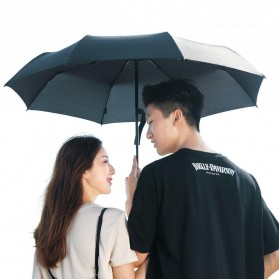 XIAOMI MIJIA Pinluo Payung Lipat Otomatis Portable Windproof Anti UV Umbrella  -  PLZDS04XM - Black - 5