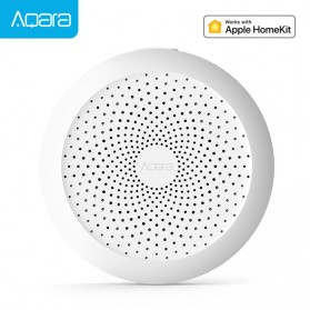 Xiaomi Aqara Smart Home Kit Gateway with RGB LED Night Light for Aqara Smart App - ZHWG11LM - White