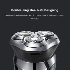 Xiaomi SOOCAS PINJING Alat Cukur Jenggot Kumis 3D Shaver Razor USB Rechargeable - ES3 - Black - 3