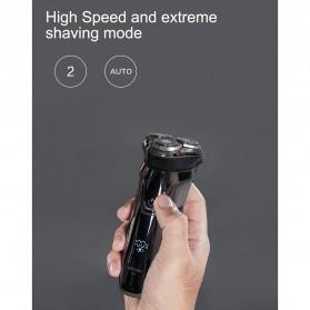 Xiaomi SOOCAS PINJING Alat Cukur Jenggot Kumis 3D Shaver Razor USB Rechargeable - ES3 - Black - 4