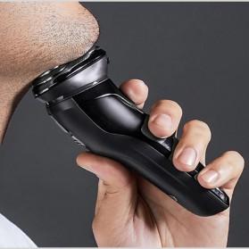 Xiaomi SOOCAS PINJING Alat Cukur Jenggot Kumis 3D Shaver Razor USB Rechargeable - ES3 - Black - 5