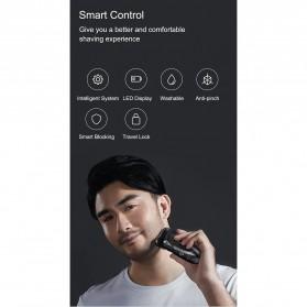Xiaomi SOOCAS PINJING Alat Cukur Jenggot Kumis 3D Shaver Razor USB Rechargeable - ES3 - Black - 6