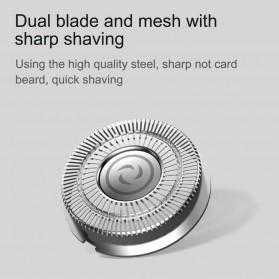 Xiaomi SOOCAS PINJING Alat Cukur Jenggot Kumis 3D Shaver Razor USB Rechargeable - ES3 - Black - 7