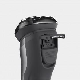 Xiaomi SOOCAS PINJING Alat Cukur Jenggot Kumis 3D Shaver Razor USB Rechargeable - ES3 - Black - 9