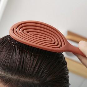 Xiaomi Youpin Xinzhi Sisir Rambut Relaxing Massage Comb Hair Anti-static Brushes - XZ60019001 - Red - 4