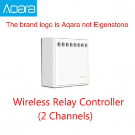 Xiaomi Aqara Eigenstone Wireless Two-way control module Relay Controller 2 channels - LLKZMK11LM - White - 7