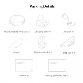 Xiaomi Mijia G1 Sweeping Robot Vacuum Cleaner 2200Pa - MJSTG1 - White - 6