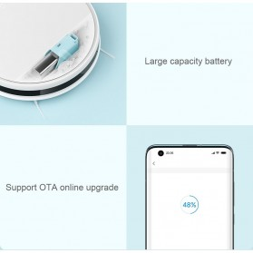 Xiaomi Mijia G1 Sweeping Robot Vacuum Cleaner 2200Pa - MJSTG1 - White - 9