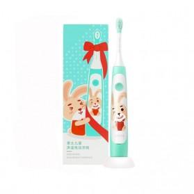 SOOCAS Sikat Gigi Anak Elektrik Children Toothbrush Rechargeable Waterproof - C1 - Green