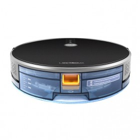LIECTROUX C30B Smart WiFi Robot Vacuum Cleaner Dry Wet Mopping Map Navigation 3000 PA - Black - 5