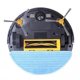 LIECTROUX C30B Smart WiFi Robot Vacuum Cleaner Dry Wet Mopping Map Navigation 3000 PA - Black - 6