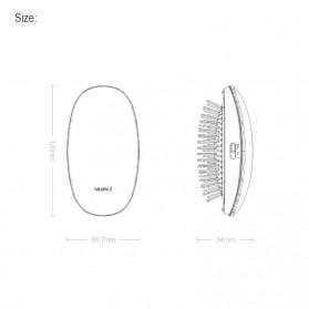 Xiaomi Youpin Yueli Sisir Elektrik Ion Pelurus Rambut Anion Massage Hair Comb - Red - 7