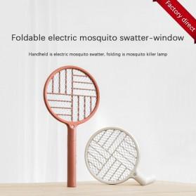 SOTHING Raket Nyamuk Mini Electric Mosquito Racket - DSHJ-S-1906 - White
