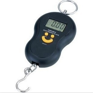 WeiHeng Portable Electronic Scale with Backlight - Black