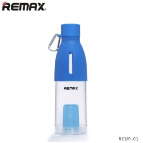 Remax Fancy Bottle Cup with Tea Infuser 500ml - RCUP-01 - Blue