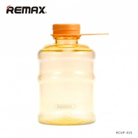 Remax Botol Minum Galon Series Water Bottle 650ml - RCUP-015 - Orange