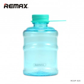 Remax Botol Minum Galon Series Water Bottle 650ml - RCUP-015 - Blue