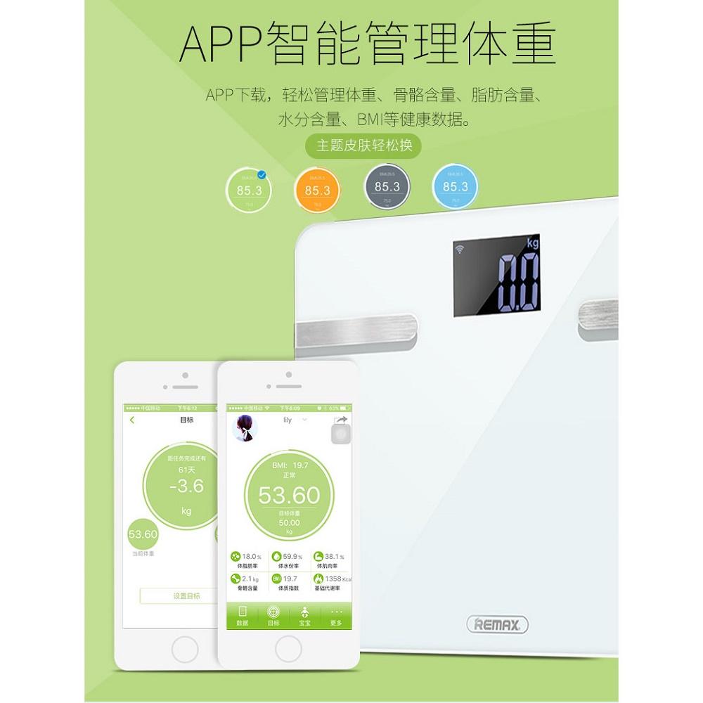 Remax Body Scales Timbangan Digital Rt S1 White Badan Personal Scale Weight Bmi Indeks Kesehatan Art 5