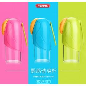 Remax Botol Minum Parrot Series Water Bottle 280ml - RCUP-017 - Blue - 7