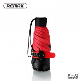 Remax Payung Lipat Mini Portable - RT-U2 - Red