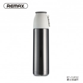 Remax Jazz Thermos Cangkir 500ml - RT-CUP22 - Silver