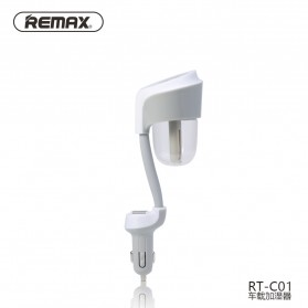 Remax Car Humidifier with 2 Port Charger 2.1A - RT-C01 - Gray