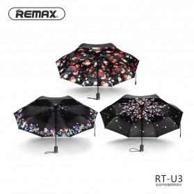 Remax Payung Lipat Mini - RT-U3 - Black - 2