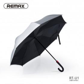 Remax Payung Terbalik - RT-U1 - Black/Silver