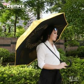 Remax Payung Terbalik - RT-U1 - Black/Silver - 5