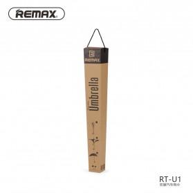 Remax Payung Terbalik - RT-U1 - Black/Silver - 6