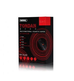 Remax Tondan Korek Api Elektrik dengan Sinar UV - RT-CL02 - Black - 7