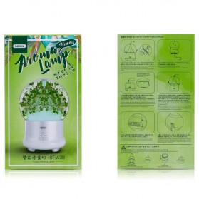 Remax Humidifier Flowers Aromalamp - RT-A700 - White - 5