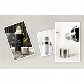 Remax Botol Thermos Retro 600ml - RT-CUP60 - Black - 5