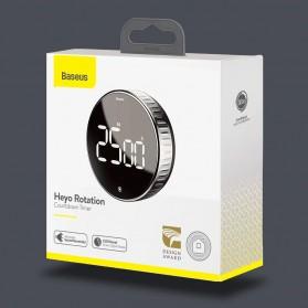 Baseus Heyo Rotation Timer Masak Dapur Magnetic Digital Countdown Alarm - ACDJS-01 - Black - 11