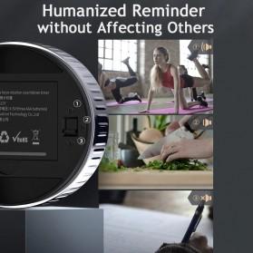 Baseus Heyo Rotation Timer Masak Dapur Magnetic Digital Countdown Alarm - ACDJS-01 - Black - 3