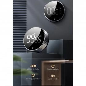 Baseus Heyo Rotation Timer Masak Dapur Magnetic Digital Countdown Alarm - ACDJS-01 - Black - 8