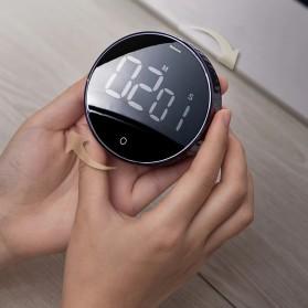 Baseus Heyo Rotation Timer Masak Dapur Magnetic Digital Countdown Alarm - ACDJS-01 - Black - 9