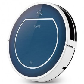 Chuwi iLife Beatles V7 Robotic Vaccum Cleaner - Blue