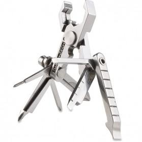 Swiss+Tech Micro Max Multifunction Tool 19 in 1 - Silver