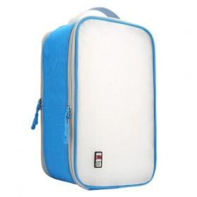 BUBM Tas Travel Bag in Bag Organizer untuk Sepatu & Sandal - TXDX - Blue