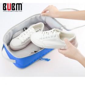 BUBM Tas Travel Bag in Bag Organizer untuk Sepatu & Sandal - TXDX - Blue - 3