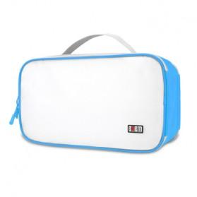 BUBM Tas Travel Bag in Bag Organizer untuk Sepatu & Sandal - TXDX - Blue - 5