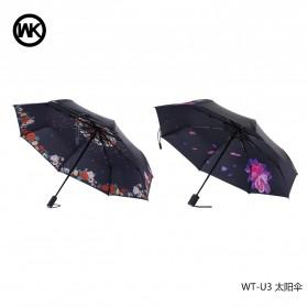 WK Payung Lipat Mini - WT-U3 - Black - 2
