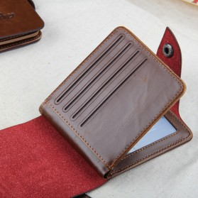 Baellerry Dompet Classic Cowboy Pria - D1303 - Brown - 5