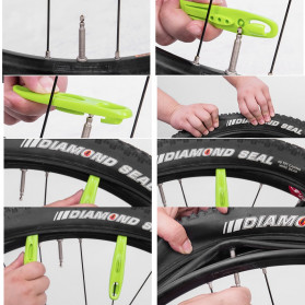 Rockbros Tyre Lever POM Alat Cungkil Ban Luar Sepeda - QTB004 - Black - 2
