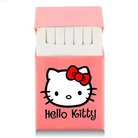 Cover Kotak Rokok Silicone Motif Hello Kitty Pink